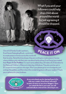 Peace It On With Knot Genie