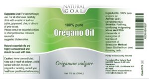 Natural Goal Oregano Oil Review & Special Giveaway